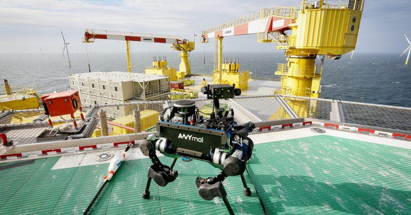 Domblick-Beitrag Robotik 20190730 - ANYmal im Offshore-Einsatz (c) ANYbotics AG