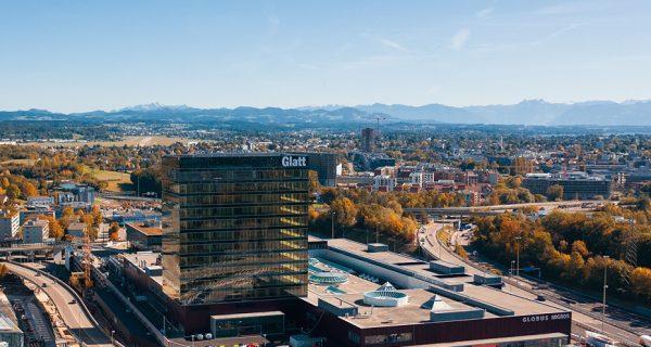DOMBLICK-Beitrag Swiss Life kauft Einkaufszentrum Glatt von Migros MGB VÖD 20200715 (c) Glattzentrum