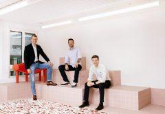 DOMBLICK-Beitrag PriceHubble Series B-Finanzierungsrunde erfolgreich Team Stefan Heitmann Markus Stadler Julien Schillewaert (Copyright Bild Lea Waser)